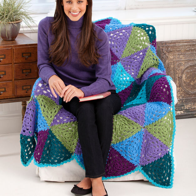 Crochet Throw Free Pattern