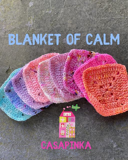 Beautiful Crochet Blanket Of Calm
