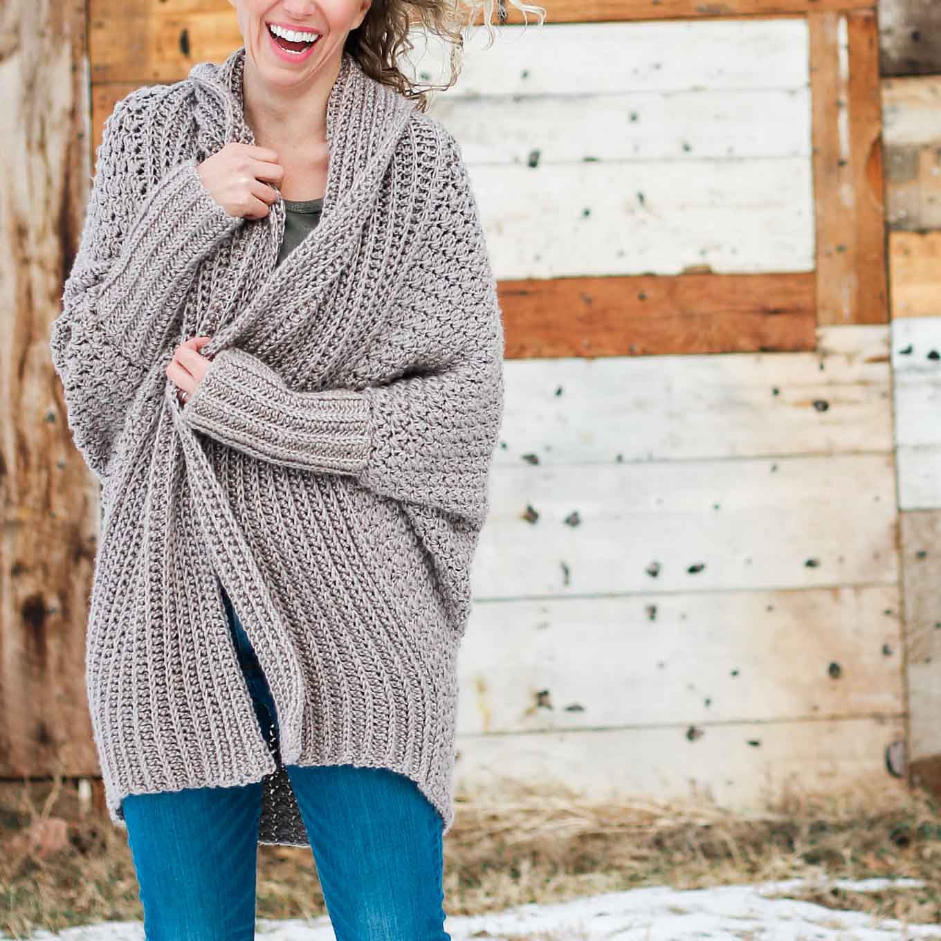 How To Crochet A Cardigan- The Habitat Cardigan Free Crochet Pattern