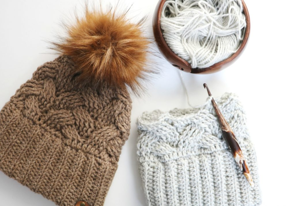 Braided Cable Beanie Pattern- It's So Comfortable You Won't Want To Take It Off