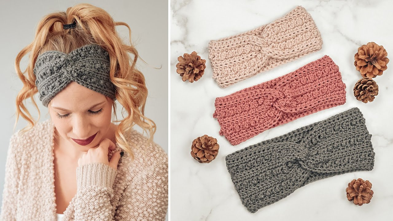 Easy Free Pattern For Crochet Headband