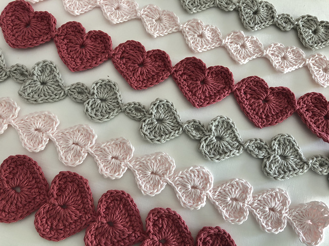 Heartstrings Crochet Pattern- No Long Chains, No Sewing, And No Yarn Tails!