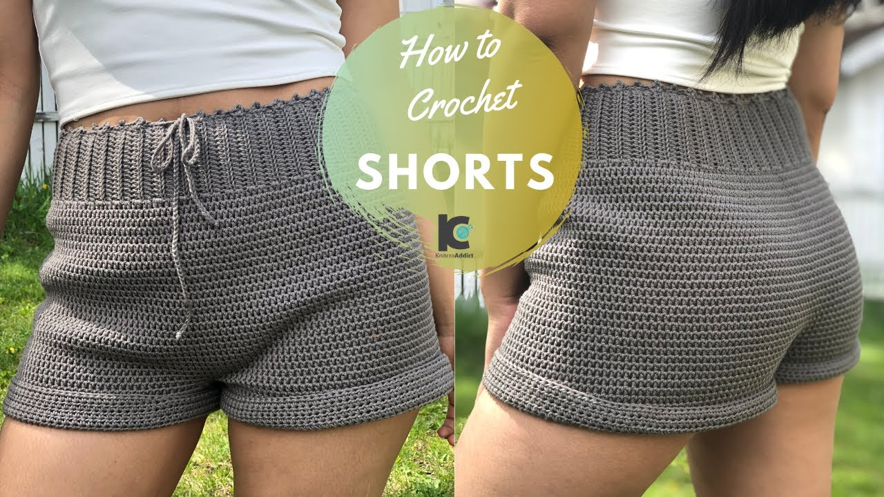 Free Crochet Shorts Pattern- Crochet Things To Make And Sell