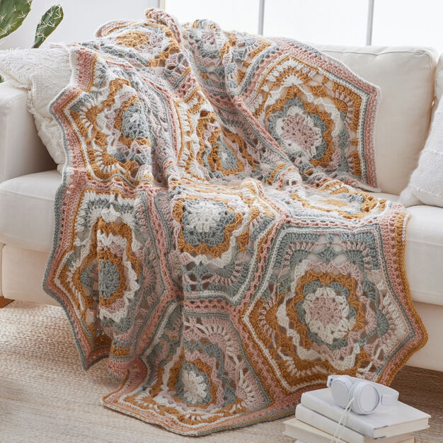 Fabulous Throw Blanket Crochet Pattern