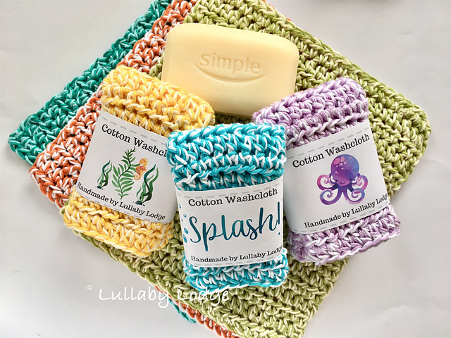 Quick And Easy Crochet Dishcloth- 30 Minute Crochet Projects