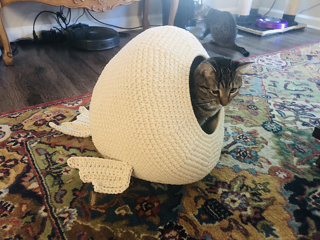 Crochet Cat House Pattern- Incredibly Charming