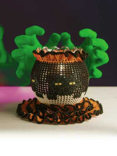 Halloween Cover and Doily