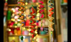 These Crochet Wind Chimes Christmas Tree Ornaments Are a Little Bit Magical