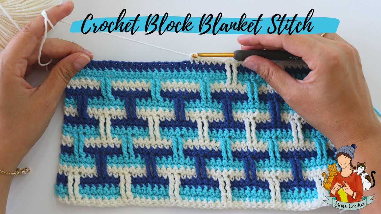 This easy crochet pattern is the perfect weekend project for those wanting to dabble into colorwork. It's a great way to practice your skills with yarn, hook, and stitches!