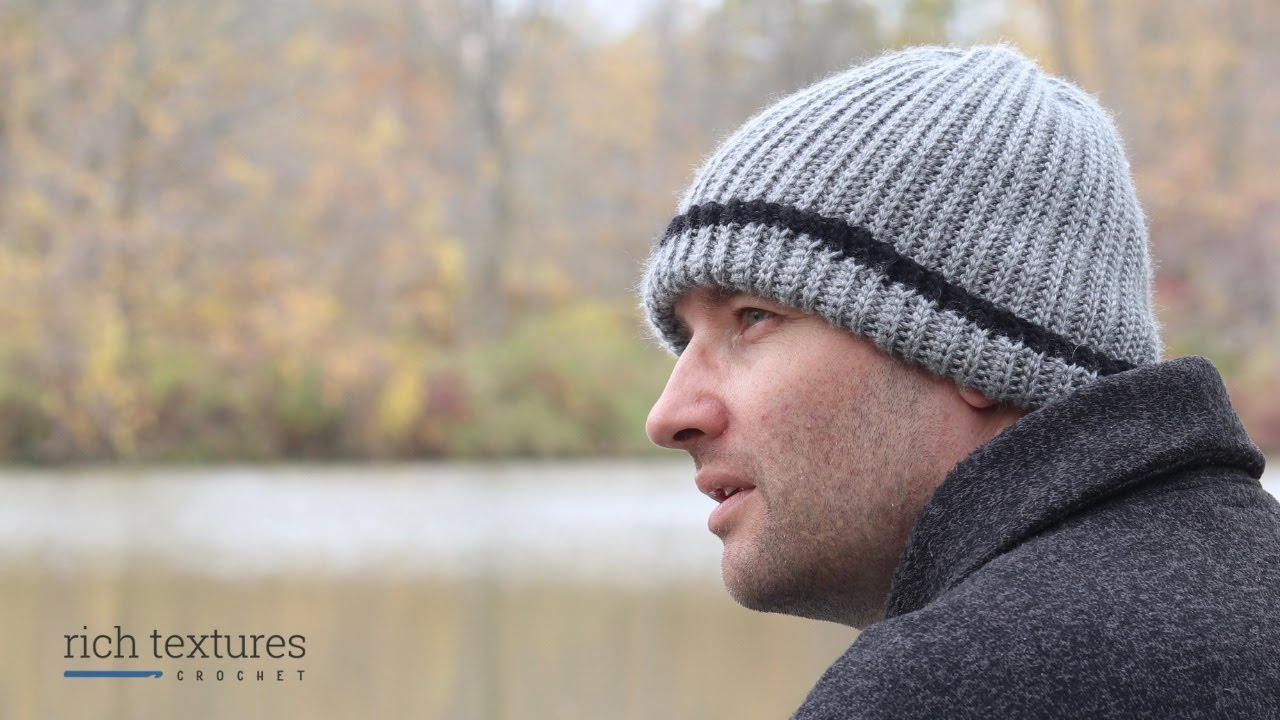 Mens Crochet Beanie Pattern: A Perfect Pattern For The Men In Your Life